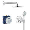 Grohe Grohtherm SmartControl Perfect Shower Set - 34743000 profile small image view 1