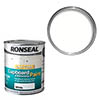 Ronseal One Coat Cupboard & Melamine Paint 750ml - White Gloss profile small image view 1
