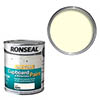 Ronseal One Coat Cupboard & Melamine Paint 750ml - Ivory Satin profile small image view 1