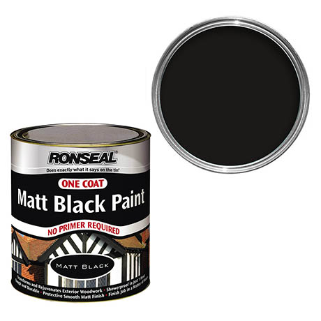 ronseal one coat exterior wood paint 750ml
