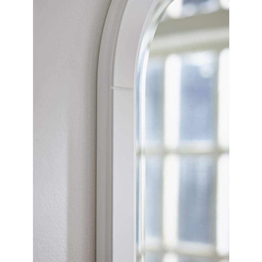 Miller - Traditional 1903 Arched Mirror with Fixed Shelf and Rail - 360C-2 Feature Large Image