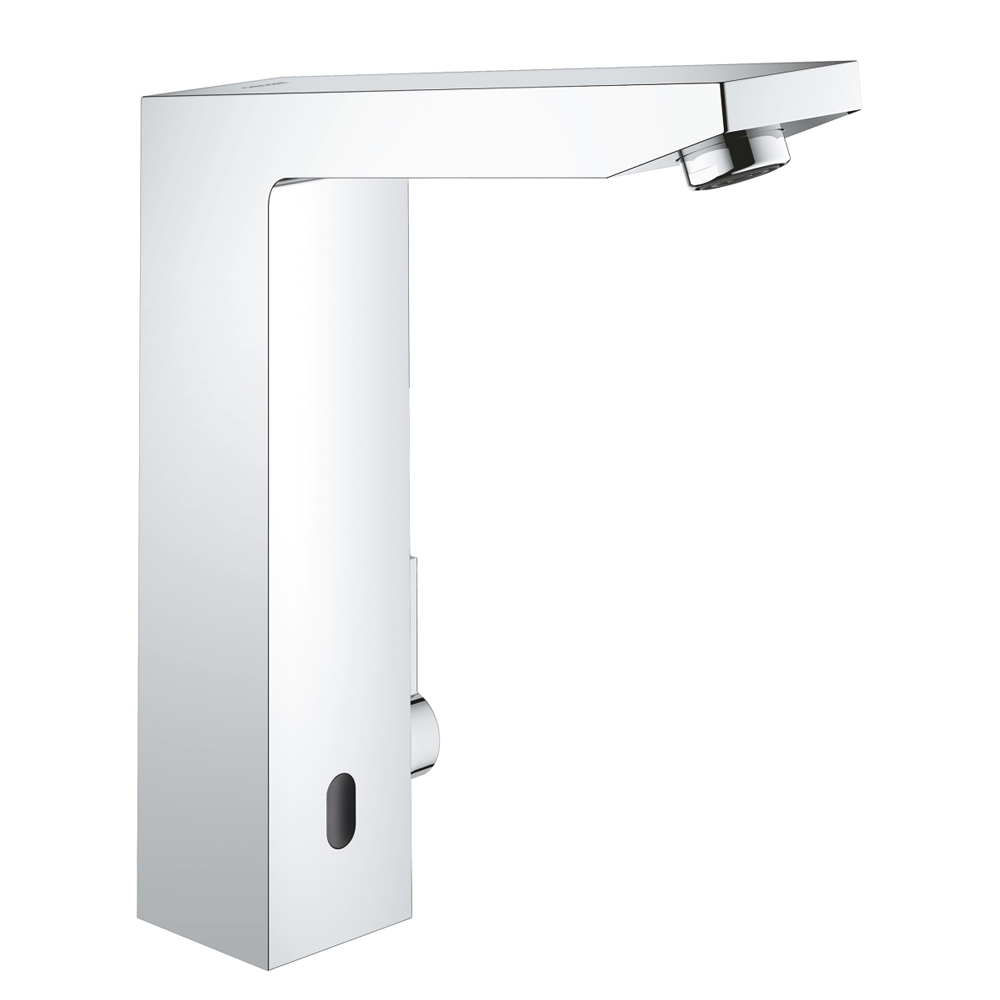 Grohe Eurocube E Infra-Red Basin Mixer Tap 1/2 inch - Chrome - 36441000