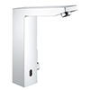 """Grohe Eurocube E Infra-Red Basin Mixer Tap 1/2"""" - Chrome - 36441000 profile small image view 1"""
