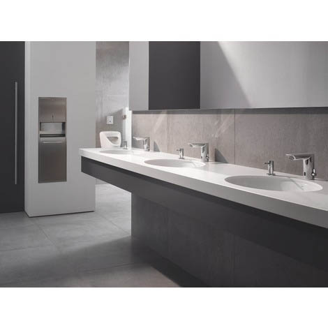 Grohe Bau Cosmopolitan E Infra-Red Electronic Basin Mixer | Sensor Taps: A Hygienic Solution for Workplace Bathrooms
