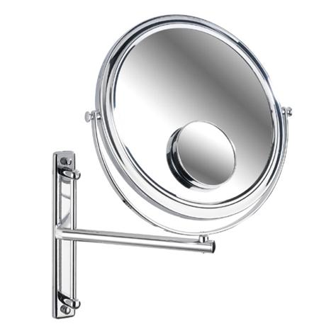 Wenko Deluxe Cosmetic Wall Mirror w/ Swivelling Arm - 3x/7x magnification