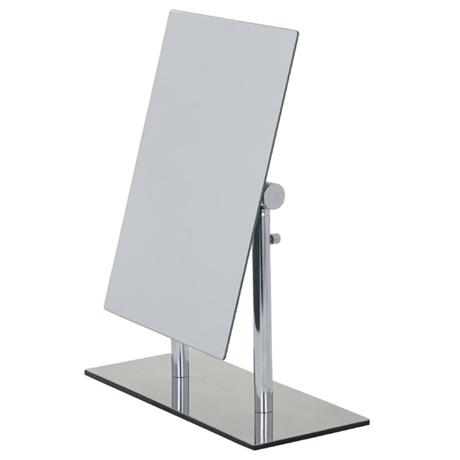 Wenko Pinerolo Standing Cosmetic Mirror - Chrome - 3656420100