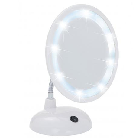 Wenko Style LED Comestic Mirror - 3x magnification - White - 3656441100