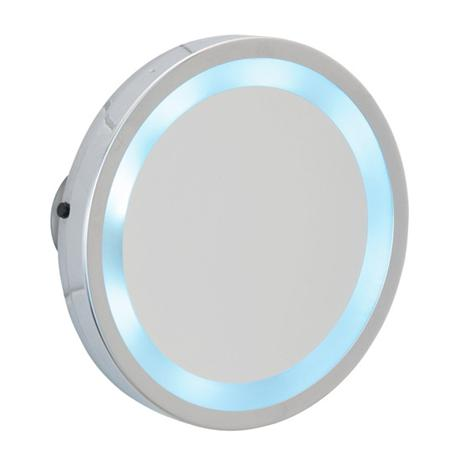 Wenko - Mosso LED Wall Mirror with Suction Cups - 3x magnification - 3656450100