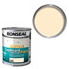 Ronseal One Coat Cupboard & Melamine Paint 750ml - Magnolia Satin profile small image view 1