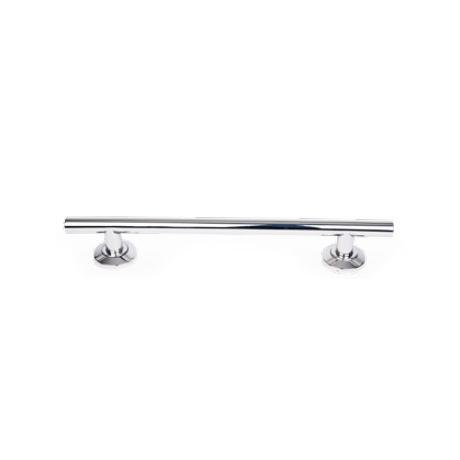Euroshowers Luxury Contemporary Straight Grab Rail - Chrome - 3 Size Options