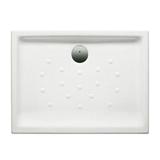 Roca Malta Superslim Ceramic Shower Tray (1200 x 750mm) - 373505000 Large Image