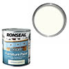 Ronseal Chalky Furniture Paint 750ml - Vintage White profile small image view 1