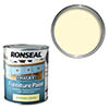 Ronseal Chalky Furniture Paint - Country Cream Small Image