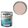 Ronseal Chalky Furniture Paint 750ml - English Rose profile small image view 1