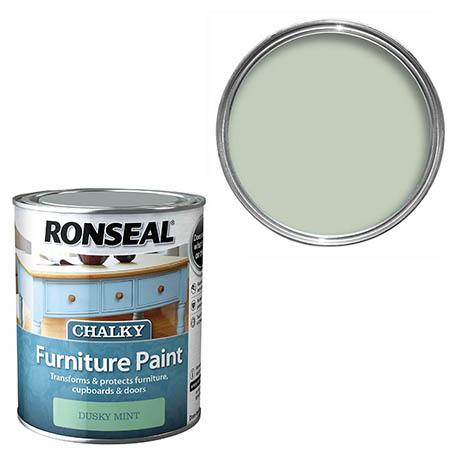 Ronseal Chalky Furniture Paint - Dusky Mint