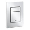 Grohe Skate Cosmopolitan S Flush Plate - Chrome - 37535000 profile small image view 1