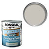 Ronseal Chalky Furniture Paint - Dove Grey Small Image