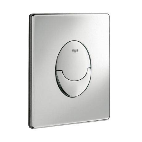 Grohe Skate Air WC Wall Flush Plate - Chrome - 38505000