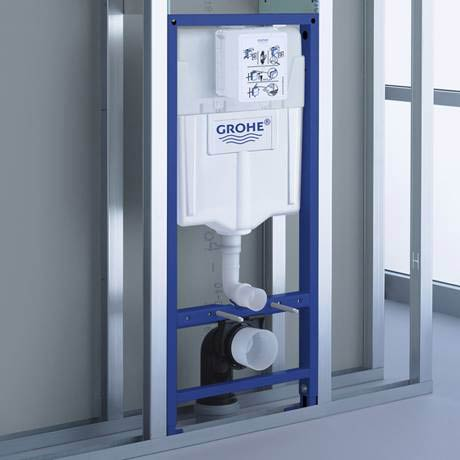 Grohe Rapid Sl 1 13m Support Frame For Wall Hung Wc 38528001