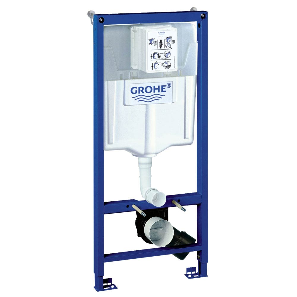 Grohe Rapid SL 1.13m Low Noise Support Frame for Wall Hung WC - 38536001 Large Image