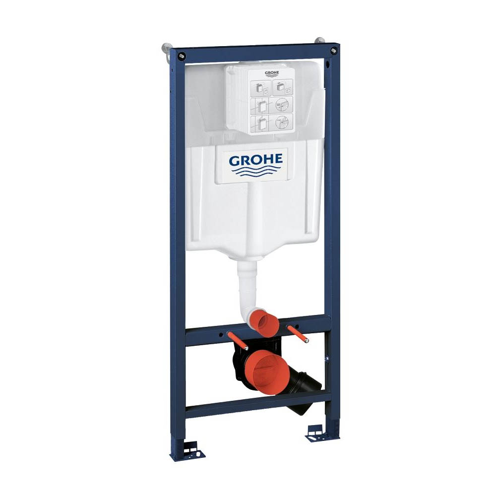Grohe Rapid SL 1.13m Low Noise Support Frame for Wall Hung WC - 38536001