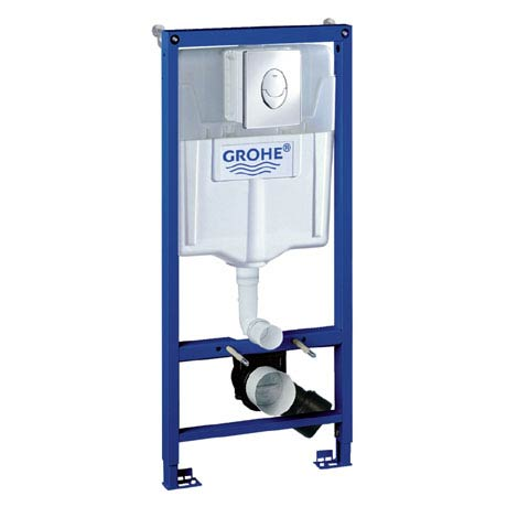 Grohe Rapid SL 1.13m Low Noise 3 in 1 Set Support Frame for Wall Hung WC - 38721001