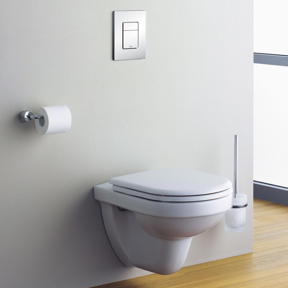 Grohe Skate Cosmopolitan WC Wall Flush Plate - 38732000  Standard Large Image