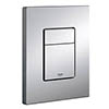 Grohe Skate Cosmopolitan WC Wall Flush Plate - Titanium - 38732BR0 profile small image view 1