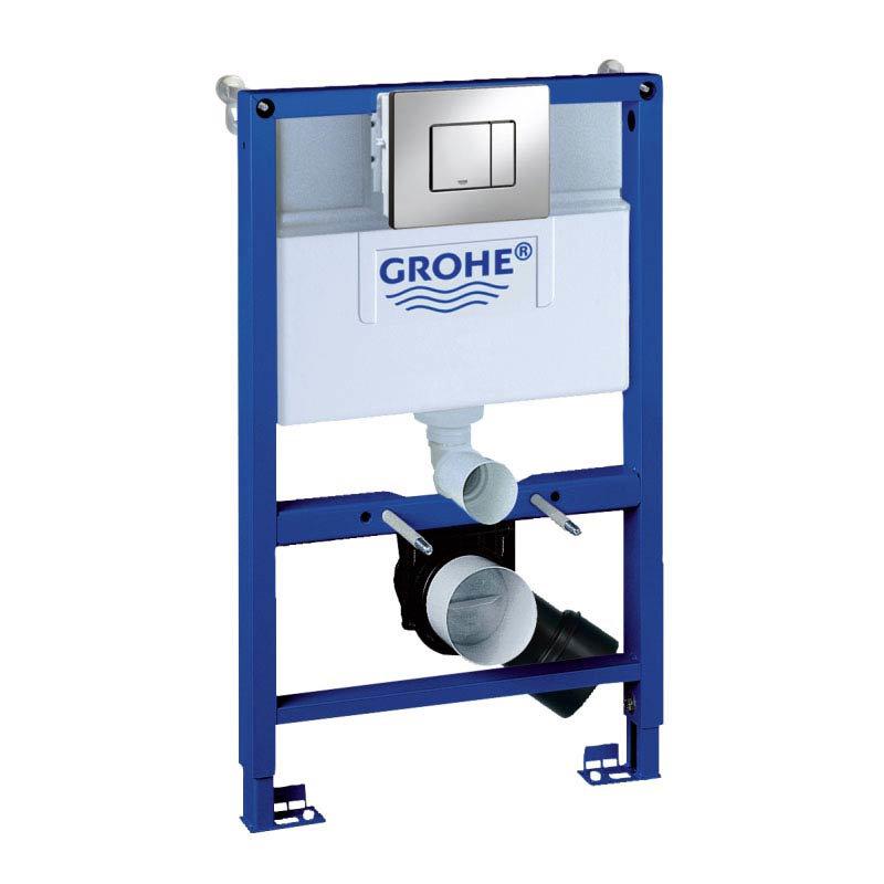 grohe rapid sl 3 in 1 set low noise support frame. Black Bedroom Furniture Sets. Home Design Ideas