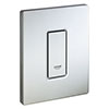 Grohe Skate Cosmopolitan Urinal Flush Plate - Stainless Steel - 38784SD0 profile small image view 1