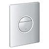 Grohe Nova Cosmopolitan Light Flush Plate - 38809000 profile small image view 1
