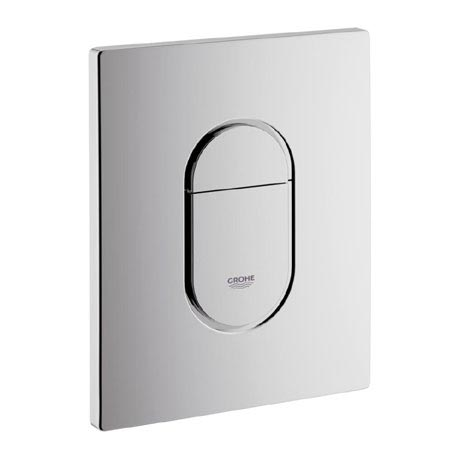 Grohe Arena Cosmopolitan WC Wall Flush Plate - Chrome - 38844000