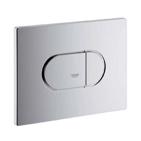 Grohe Arena Cosmopolitan WC Wall Flush Plate - Chrome - 38858000