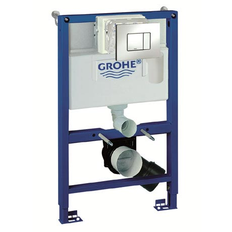 Grohe Rapid SL 0.82m 4 in 1 Set Support Frame for Wall Hung WC - 38885000