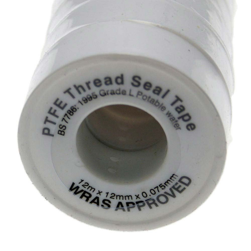 PTFE Thread Tape 12mm x 12 metres profile large image view 1