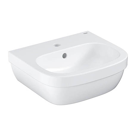 Grohe Euro Ceramic 450mm 1TH Wall Hung Basin - 39324000