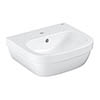 Grohe Euro Ceramic 450mm 1TH Wall Hung Basin - 39324000 profile small image view 1