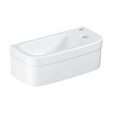 Grohe Euro 370mm 1TH Compact Right Hand Wall Hung Basin - 39327000