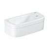 Grohe Euro 370mm 1TH Compact Right Hand Wall Hung Basin - 39327000 profile small image view 1