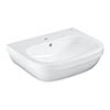 Grohe Euro Ceramic 600mm 1TH Wall Hung Basin - 39335000 profile small image view 1