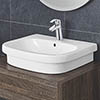 Grohe Euro 600mm 1TH Counter Top Basin - 39337000 profile small image view 1