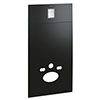 Grohe Velvet Black Skate Cosmopolitan Glass Cover - 39374KS0 profile small image view 1