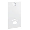 Grohe Moon White Skate Cosmopolitan Glass Cover - 39374LS0 profile small image view 1