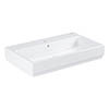 Grohe Cube Ceramic 800mm 1TH Wall Hung Basin - 3946900H profile small image view 1