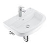 Grohe Bau Ceramic 550mm Complete Basin Package (Tap + waste included) profile small image view 1