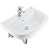 Grohe Bau Ceramic 600mm Complete Basin Package (Tap + waste included) profile small image view 1