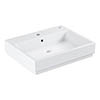 Grohe Cube Ceramic 600mm 1TH Wall Hung Basin - 3947300H profile small image view 1