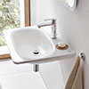 Grohe Essence 600mm 1TH Wall Hung Basin - 3956500H profile small image view 1
