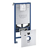 Grohe Rapid SLX 1.13m Support Frame for Rimless WC & Sensia - 39598000 profile small image view 1