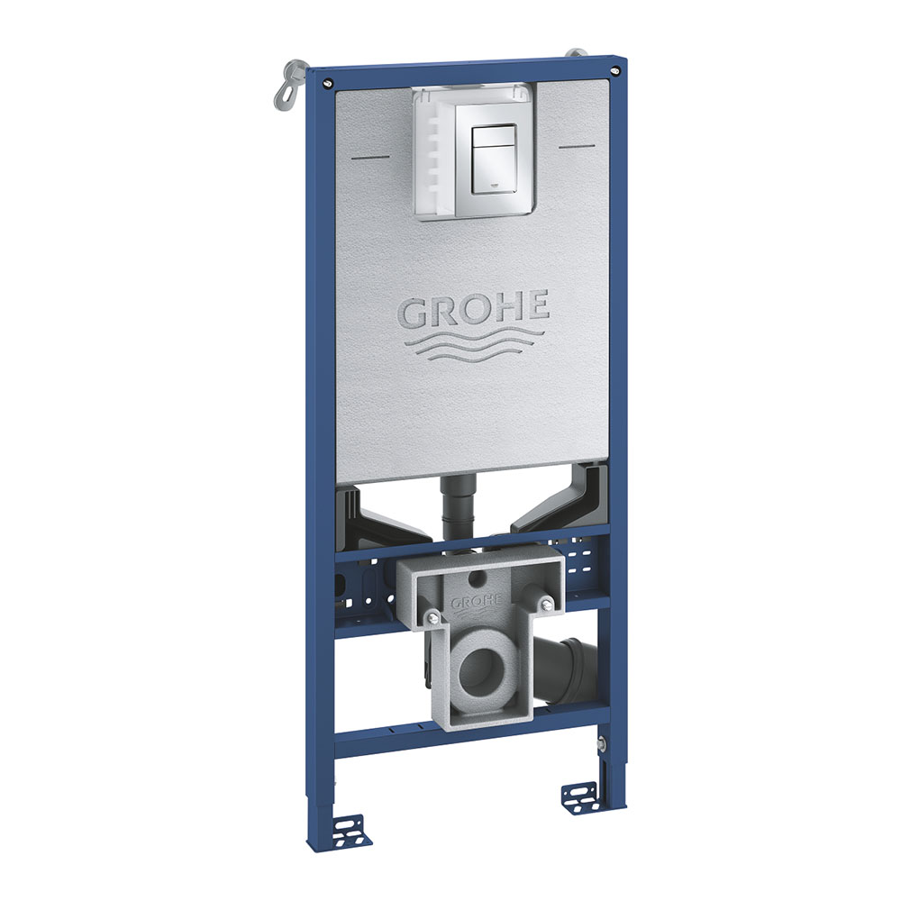Grohe Rapid SLX 1.13m 3-in-1 Set Support Frame for Rimless WC & Sensia - 39603000